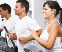 Кардио упражнения сжигают калории!